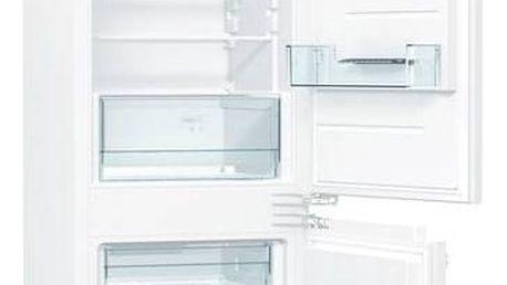 Kombinace chladničky s mrazničkou Gorenje RKI2181E1 bílá + Doprava zdarma