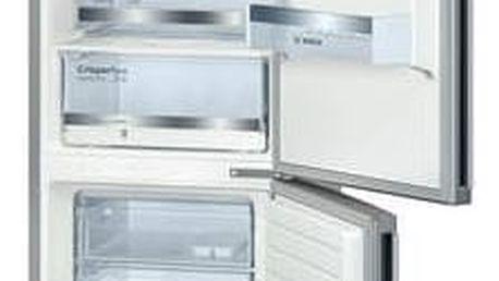 Kombinace chladničky s mrazničkou Bosch KGE36DL40 nerez + Doprava zdarma