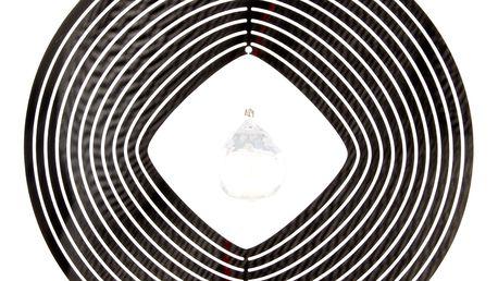 Závěsná dekorace Cosmo Spinner Sféra s krystalkem