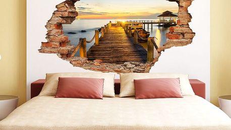 Samolepka Ambiance Dock And Sunset - doprava zdarma!