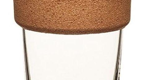 Cestovní hrnek s víčkem KeepCup Brew Cork Edition Rock Salt, 454 ml - doprava zdarma!