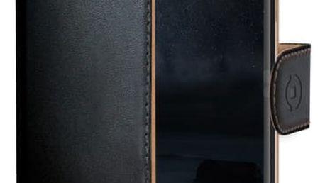 Pouzdro na mobil flipové Celly pro Nokia 6 (WALLY662) černé