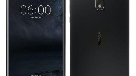 Mobilní telefon Nokia 6 Single SIM (11PLEB01A13) černý + DOPRAVA ZDARMA