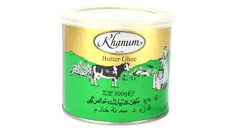 KTC Máslo Ghí Khanum 500 g