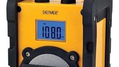 Radiopřijímač Denver WR-40 (dwr40) žlutý