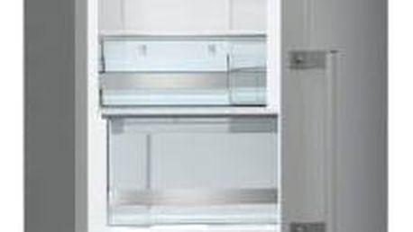 Kombinace chladničky s mrazničkou Gorenje NRK6202MX šedá/nerez + Doprava zdarma