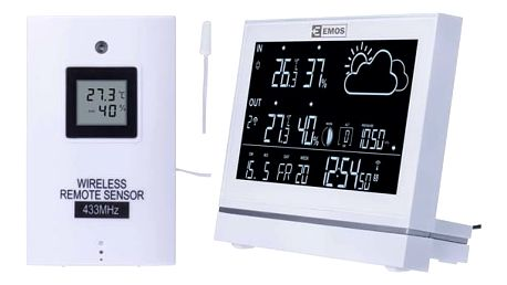 Meteorologická stanice EMOS E5005 (2606155000) bílá