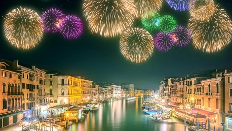 Prožijte romantický Silvestr v Benátkách