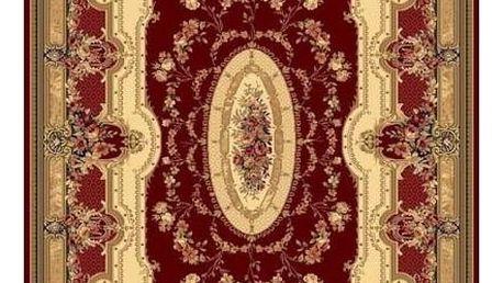 Habitat koberec Super Antique curve červená