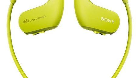 MP3 přehrávač Sony NW-WS413G zelený