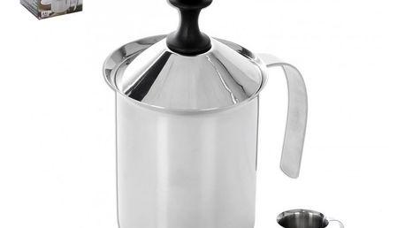 Nerezový šlehač na cappuccino 0,5 l orion 152564