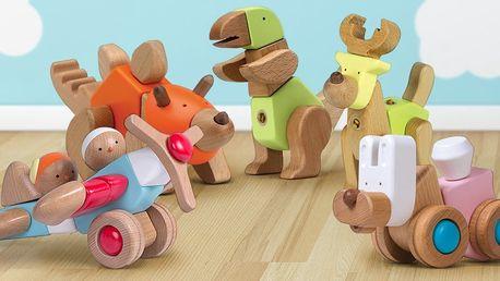 Multifunkční dřevěné hračky EQB