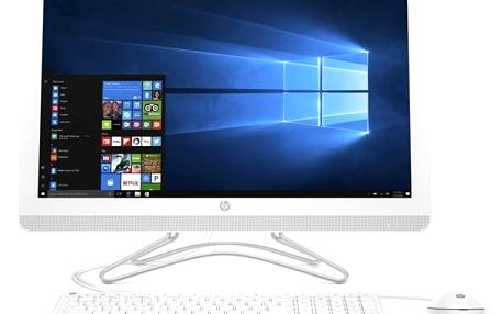 Počítač All In One HP AiO 24-e013nc (2BZ77EA#BCM) bílý + Doprava zdarma