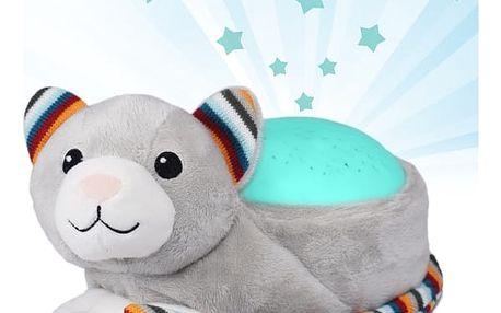 ZAZU Kočička KIKI - Projektor noční oblohy s uklidňujícími melodiemi