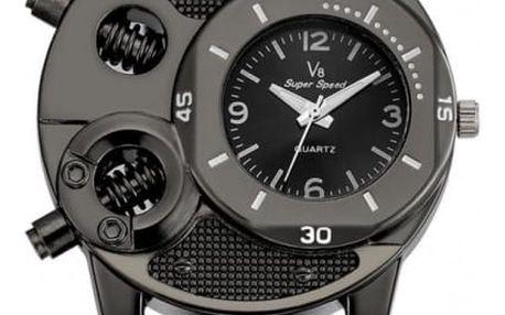 Pánské hodinky v mechanickém stylu