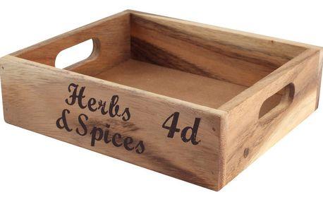 Dřevěná přenoska T&G Woodware Baroque Herbs & Spice - doprava zdarma!