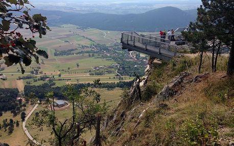 Sobotní výlet do Rakousko: kamenná soutěska, vodopády a výhledy