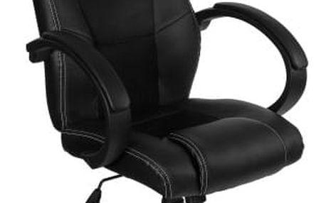 RACEMASTER® GS Series 9496 Otočná kancelářská židle ČERNÁ