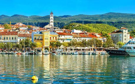 Záloha na pobyt v Chorvatsku: letenky, polopenze