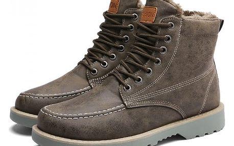 Pánské zimní boty - 3 barvy