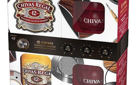 Chivas Regal Whisky 0,7l 40% + 2x sklo