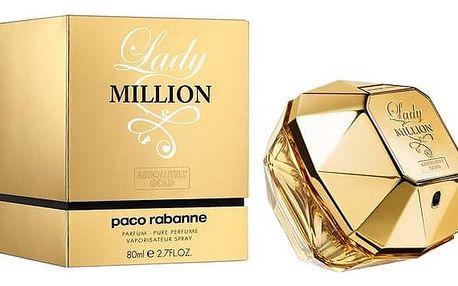 Paco Rabanne Lady Million parfémovaná voda dámská 80 ml + Doprava zdarma