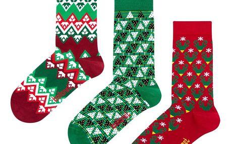 Dárková sada ponožek Ballonet Christmas, velikost 36-40 - doprava zdarma!