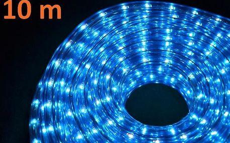Nexos 816 Světelný kabel 10 m - modrá, 360 minižárovek