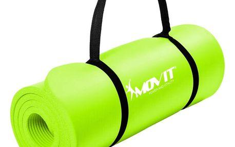 MOVIT 32912 Gymnastická podložka 190 x 60 x 1,5 cm sv. zelená