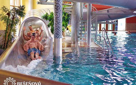 Populární Bešeňová se slevou na vstup do termálních aquaparků + polopenze a další výhody