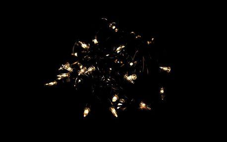 Nexos 42999 Vánoční světelný řetěz - 100 MINI žárovek - žlutá