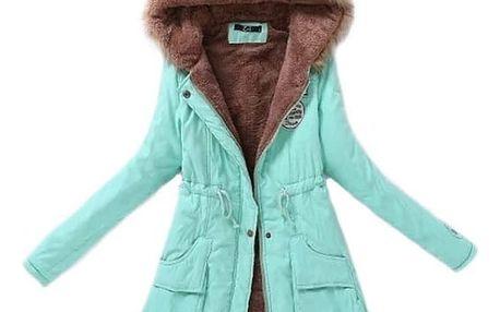 Podzimní bunda s kožíškem - 14 barev
