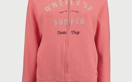 Mikina O´Neill LW Easy Fantastic Zip Hoodie Růžová