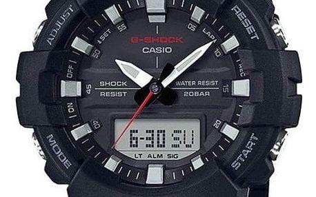 Casio GA 800-1A + nůž, pojištění hodinek, doprava ZDARMA, záruka 3 roky