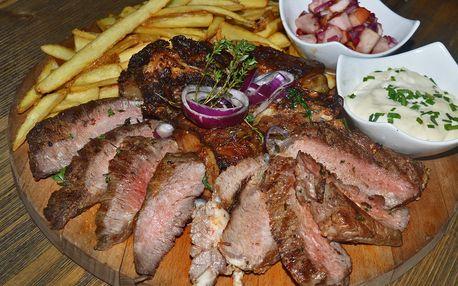 Otesánkův sen: hovězí masová hostina s přílohou