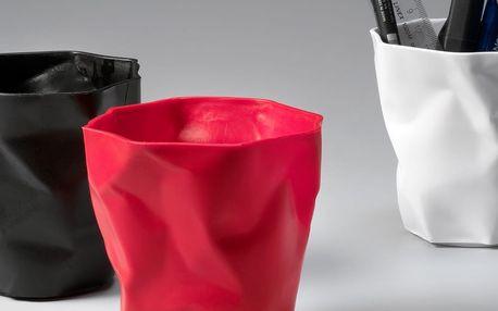 Červený kalíšek na tužky Essey Pen - doprava zdarma!