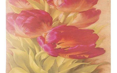 Obraz na stěnu - Růžové tulipány