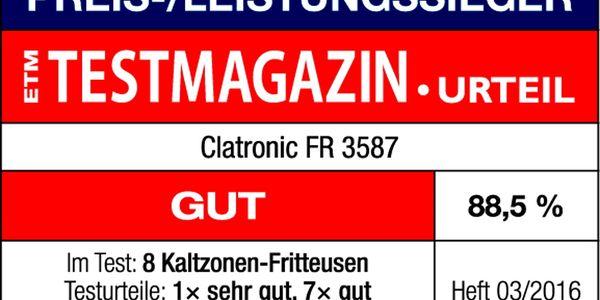 Fritéza Clatronic FR 3587 černá/nerez2