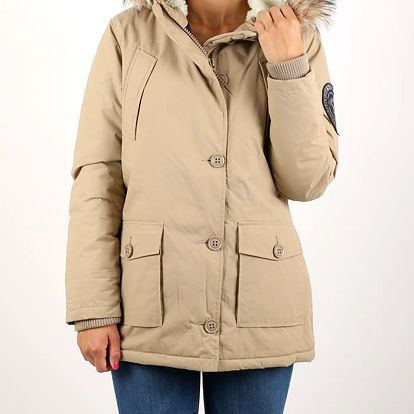 Bunda Superdry EVEREST PARKA Béžová