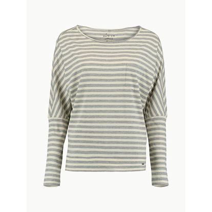 Tričko O´Neill LW Essentials Striped Top Šedá