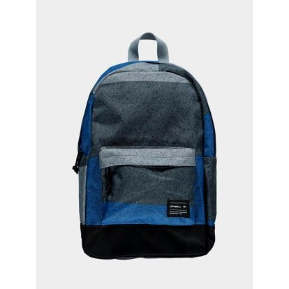 Batoh O´Neill BM COASTLINE GRAPHIC BACKPACK Modrá