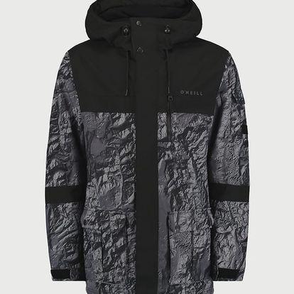 Bunda O´Neill PM Bearded Hybrid Jacket Černá