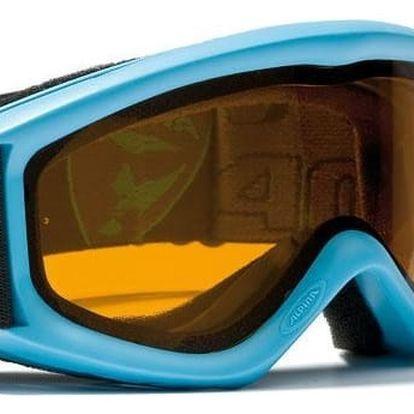 Dětské lyžařské brýle Alpina Carat D, cyan
