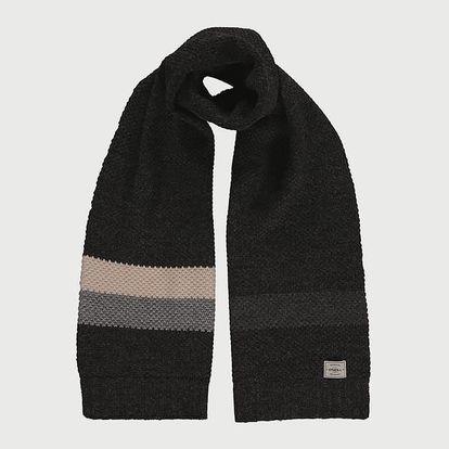 Šála O´Neill BM Snowset Wool Mix Scarf Černá