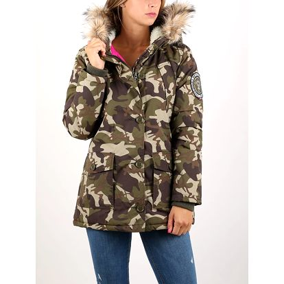 Bunda Superdry EVEREST PARKA Barevná