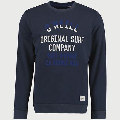 Mikina O´Neill LM Pch Logo Crew Sweatshirt Modrá