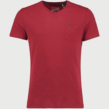 Tričko O´Neill LM Jacks Base V-Neck T-Shirt Červená