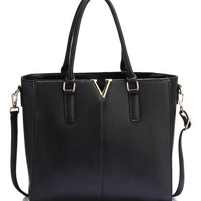 Dámská černá kabelka Lyrra 420