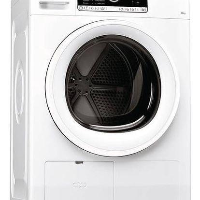 Sušička prádla Whirlpool HSCX 80410 bílá + Doprava zdarma