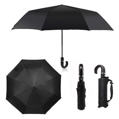 Černý skládací deštník Ellie 211